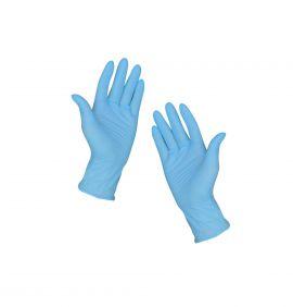 Nitril gumikesztyű púdermentes kék 100 db M, az ár 1 db-ra vonatkozik