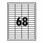 ETIKETT 38,1X21,2MM 100LAP 65CÍMKE/LAP