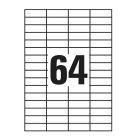 ETIKETT 48,5X16,9MM 100LAP 68CÍMKE/LAP
